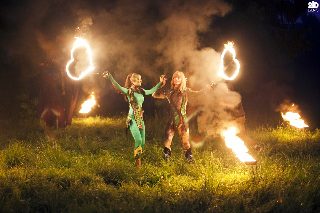 Mystical Fire Show for special events
