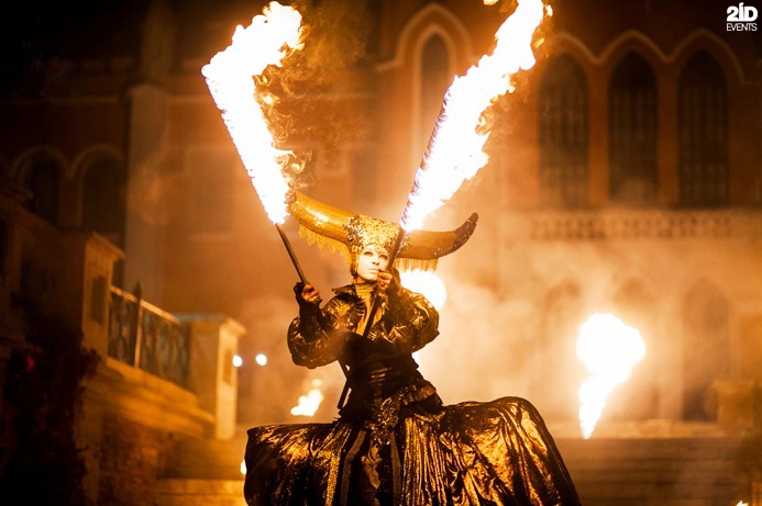 Theatrical Fire Show for special events