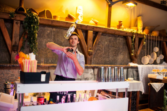 Bartender Show for themed events