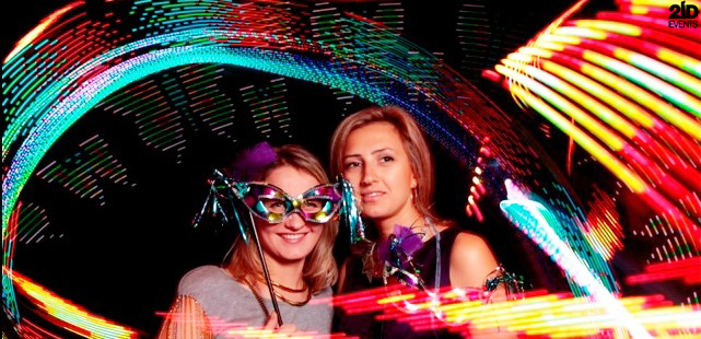 Glow Photo Booth for festivals