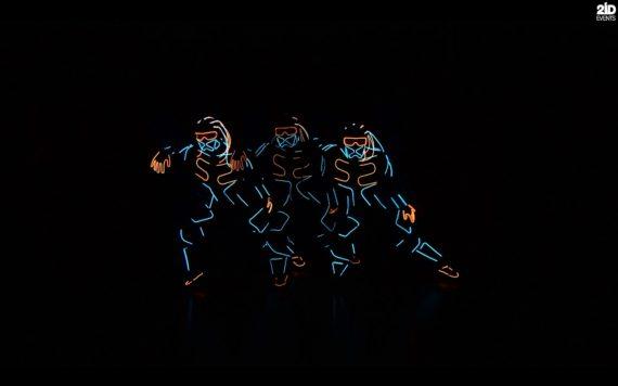 LED Dance Show for festivals