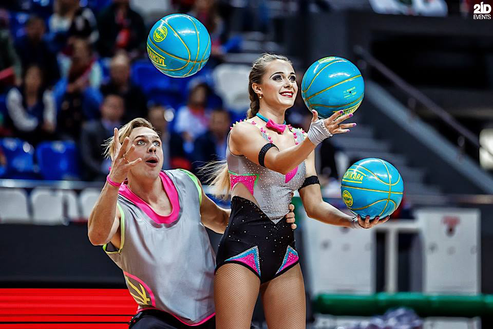 Basketball Jugglers for sport events
