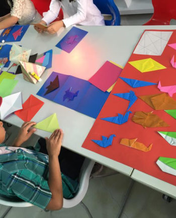 Origami Workshop in Dubai