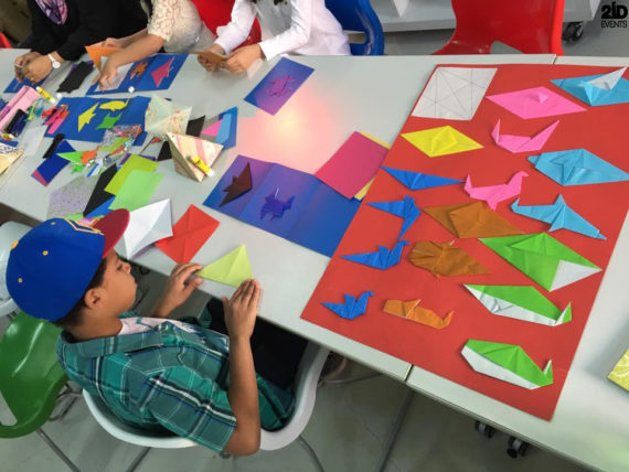 Origami Workshop for mall activities