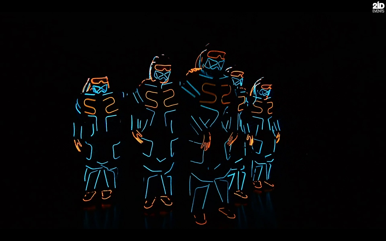 LED Dance Show for corporate events