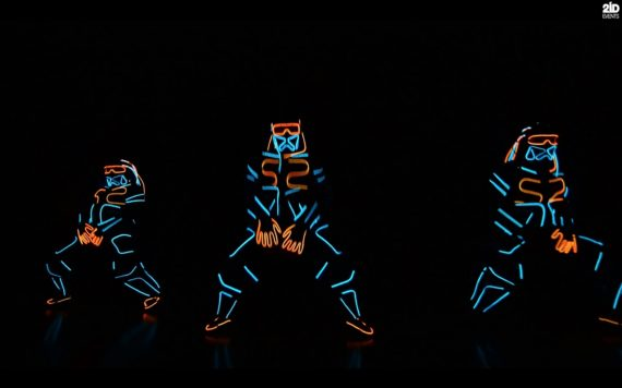 LED Dance Show for themed events