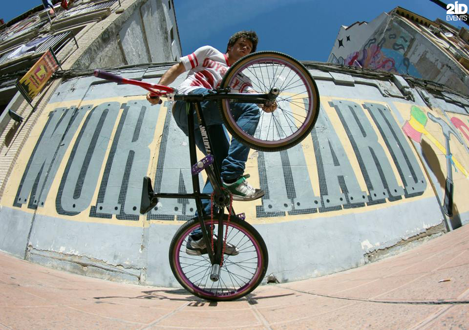 BMX Flatland show for product launches