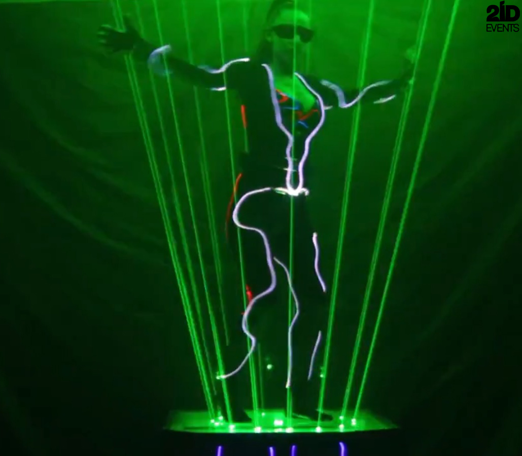 Lordess of Lasers for gala dinners