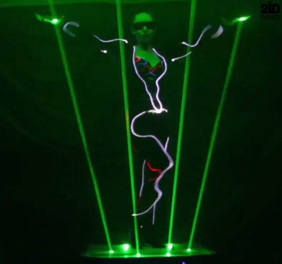 Lordess of Lasers for special events