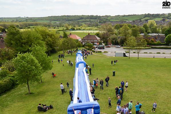 Inflatable Water Slide for festivals