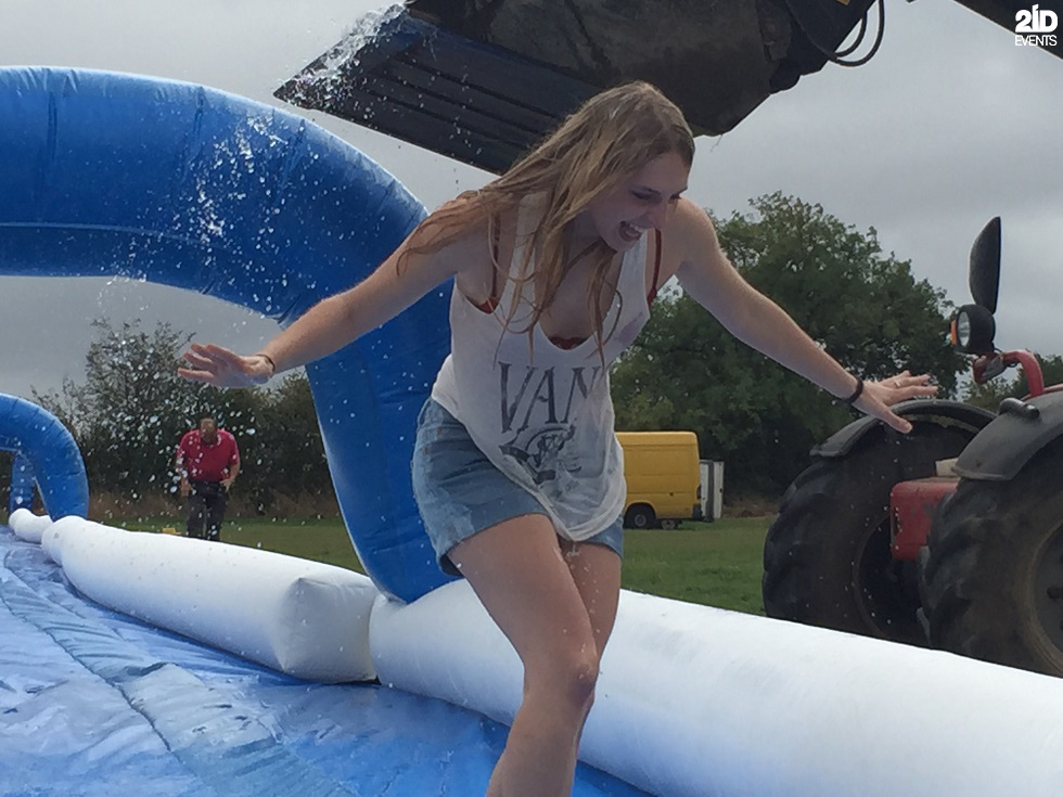 Inflatable Water Slide for street events