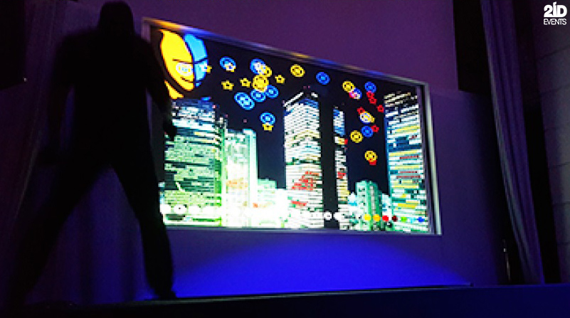 High-Tech Art for for themed events