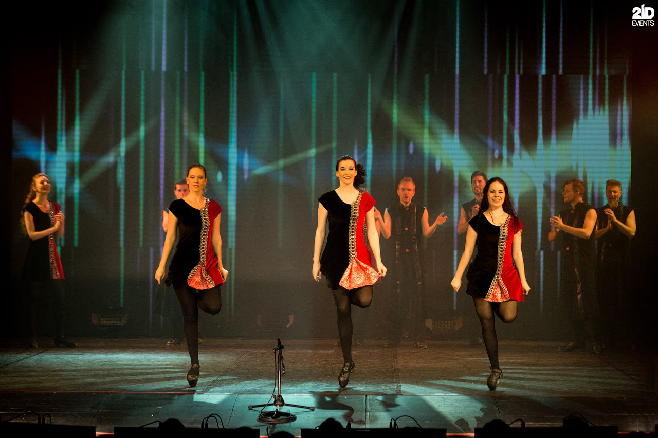 Irish Tap Dance Show for product launches