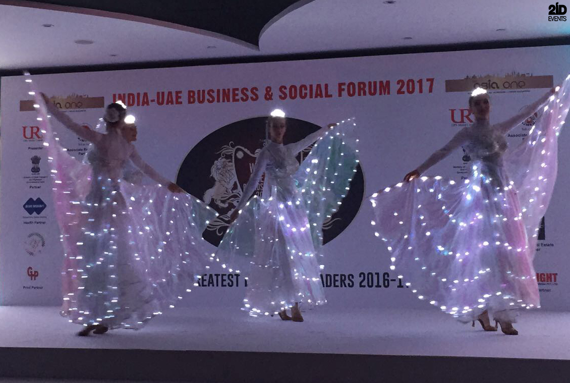ENTERTAINMENT FOR INTERNATIONAL BUSINESS FORUM