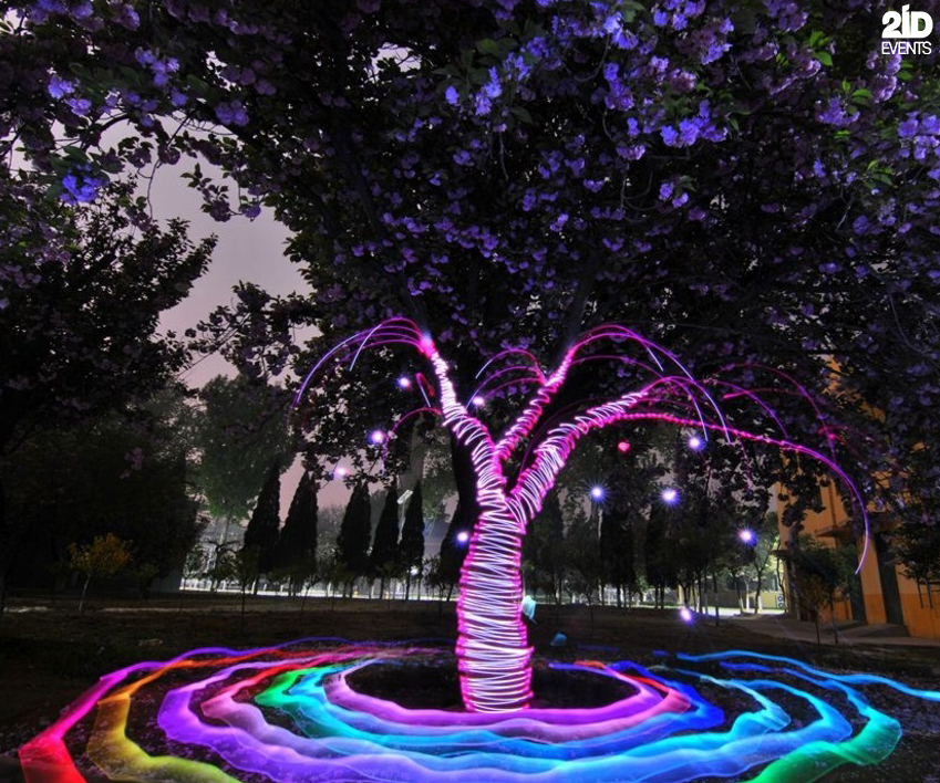 Light Painter for corporate events