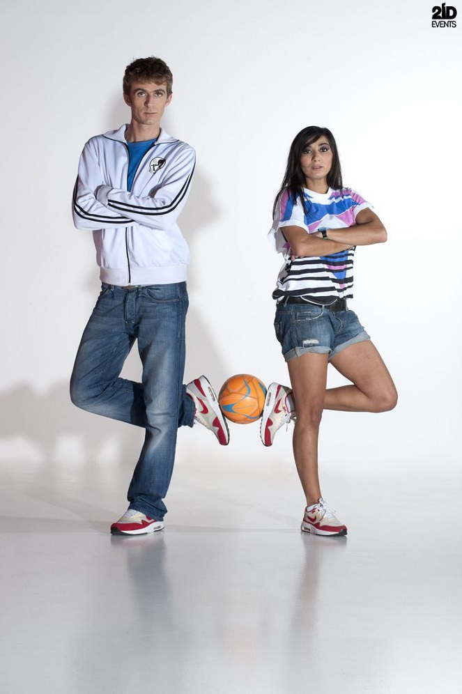 Football Freestyle Duo for sport events