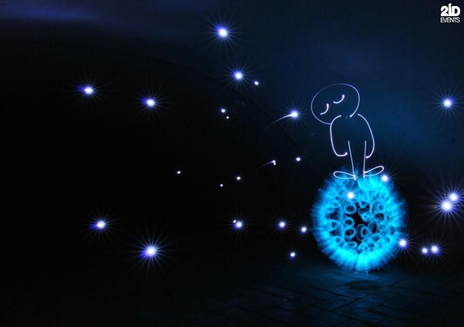 Light Painter for festivals