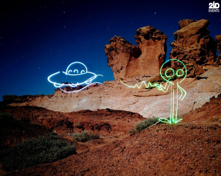 Light Painter for private events