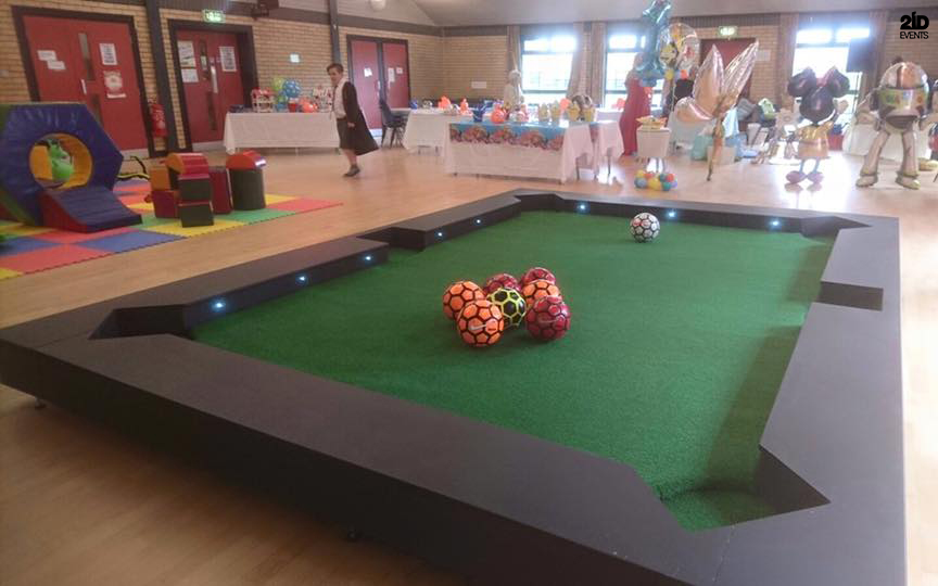 Foot Billiard for product launches