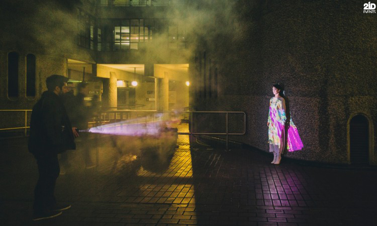 Fashion Roaming Projection for special events