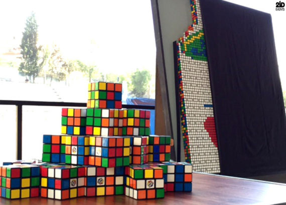 Rubik`s Cube Artist for special events