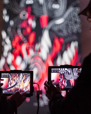 Interactive Animated Painting in the UAE