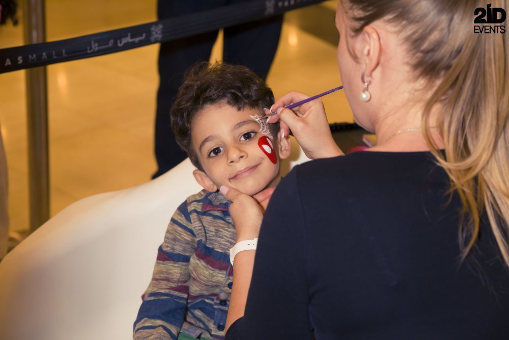 Face Painter and Tattoo art for mall activities