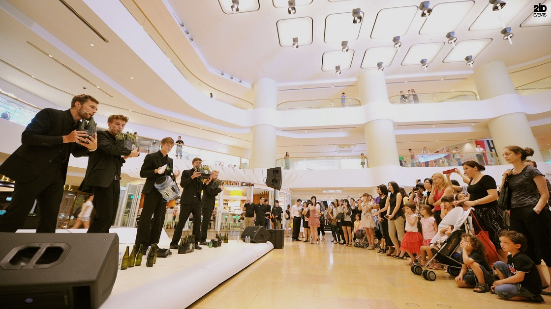 Glass Whistling Band for mall activities