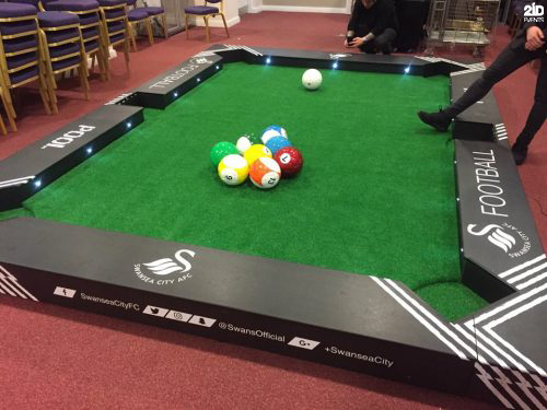 Foot Billiard for mall activities