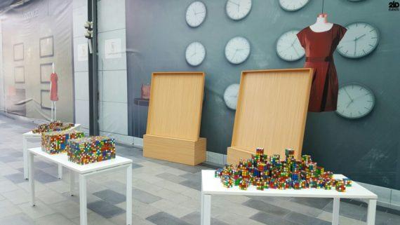 Rubik`s Cube Artist for festivals