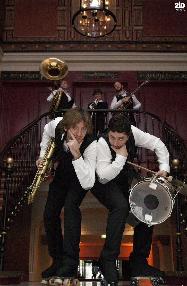 Roller Jazz Twist for corporate events