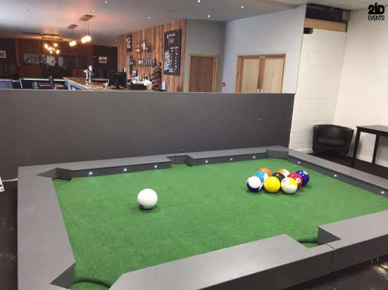 Foot Billiard for private events