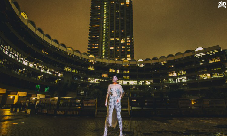 Fashion Roaming Projection for gala dinners