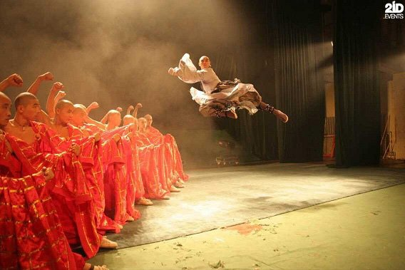 Kung Fu Show for themed events