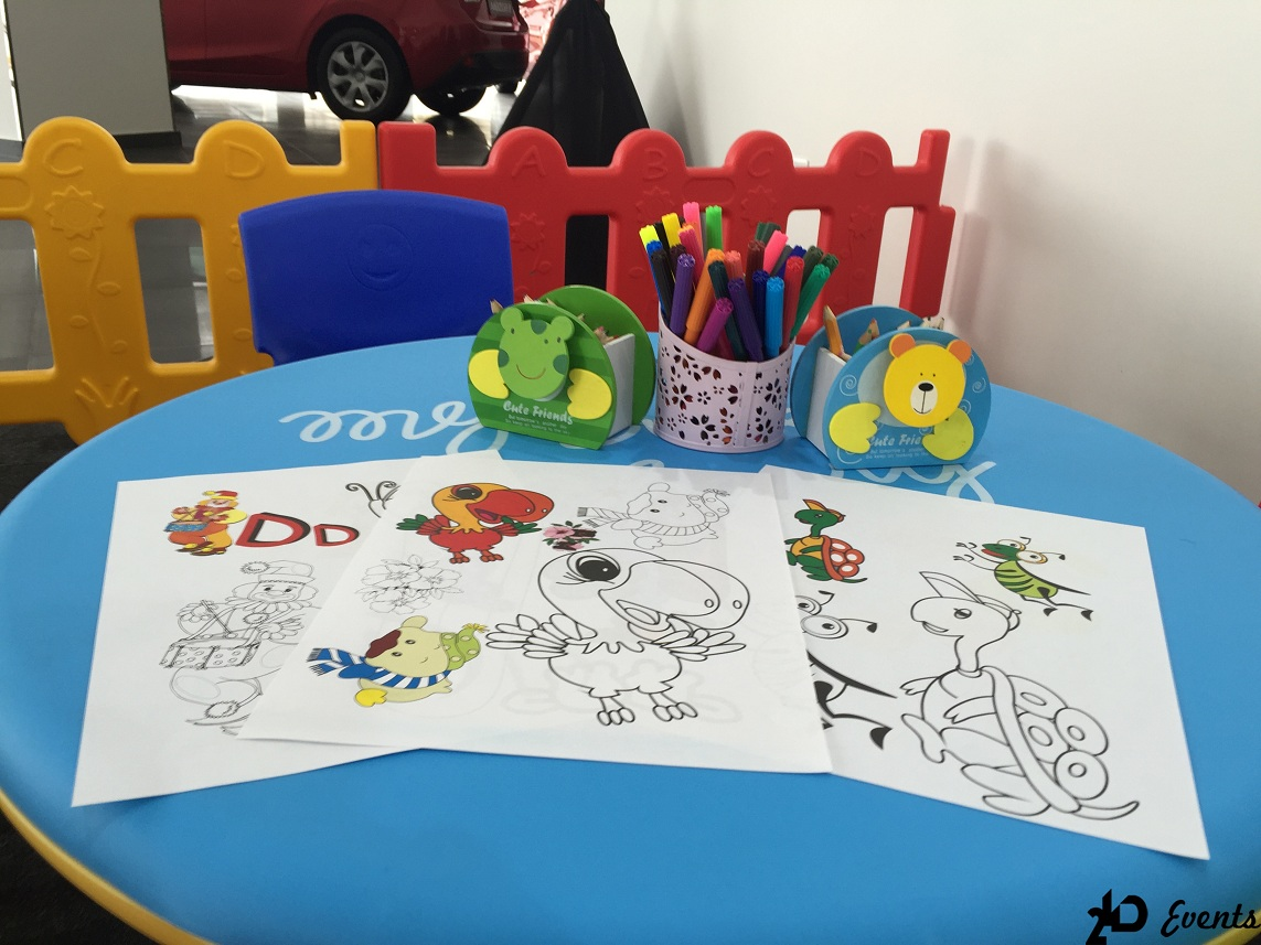Kids Corner for special events