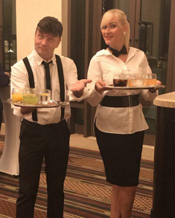 Singing Waiters in Dubai