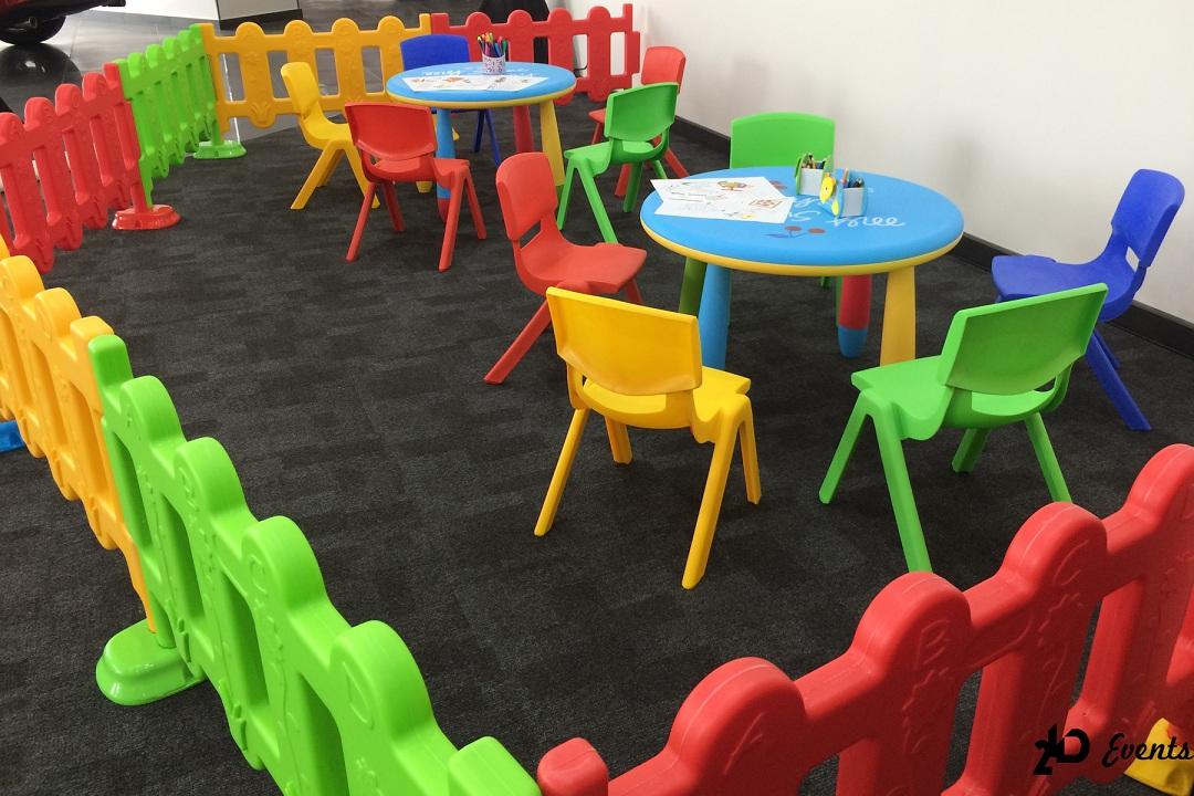 Kids Corner for mall activities