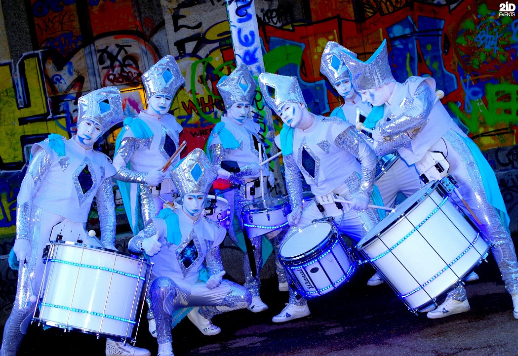 Silver Drummers Group for corporate events
