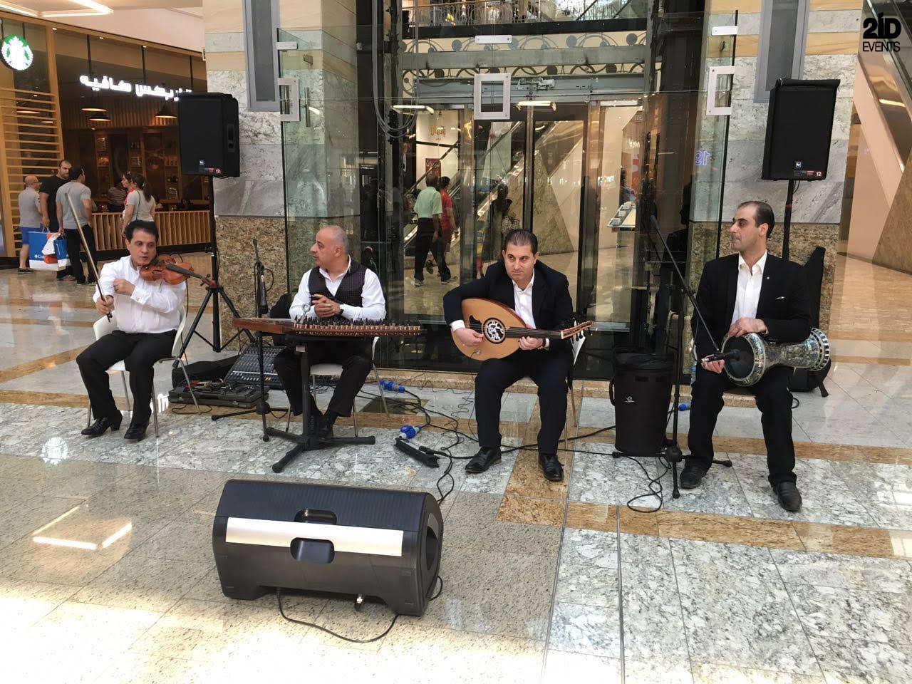 Arabic band for themed events