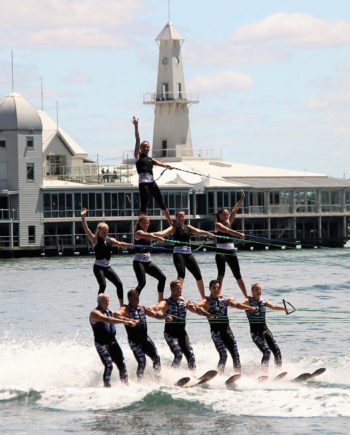 Water Stunt Group in the UAE