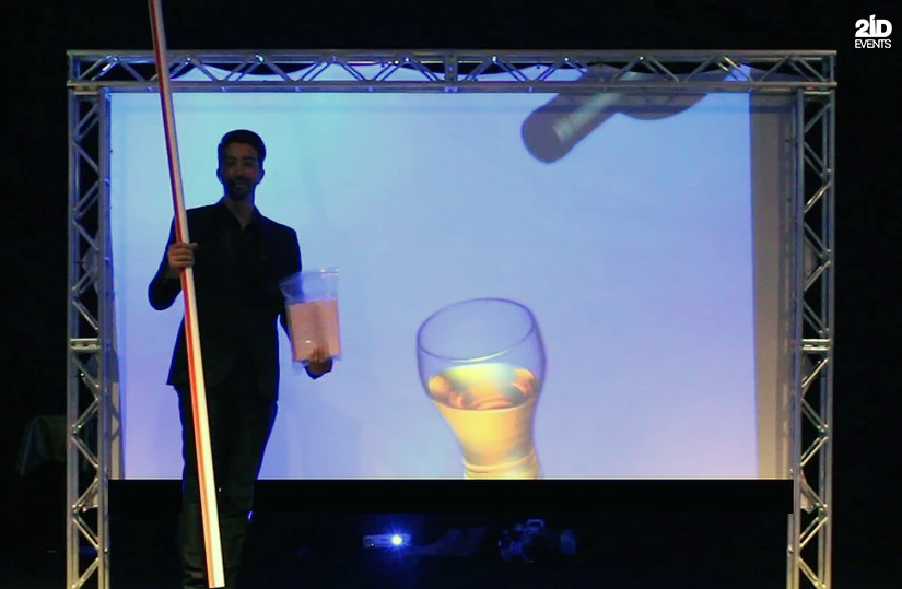 Screen Magic Tricks for corporate events