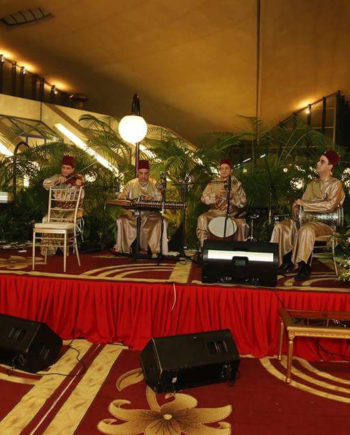 Arabic band in the UAE