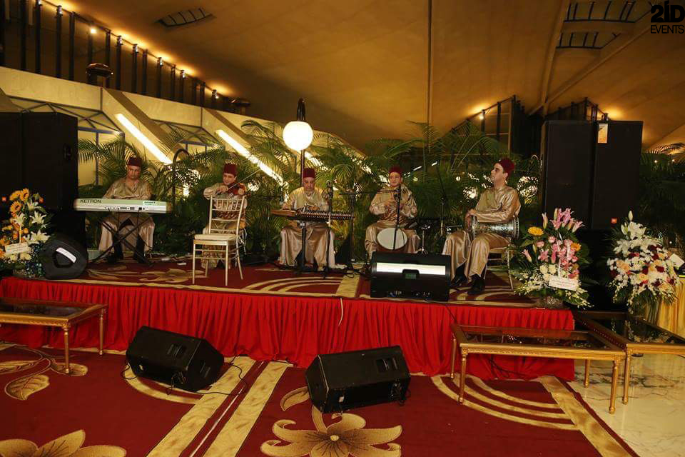 Arabic band for gala dinners