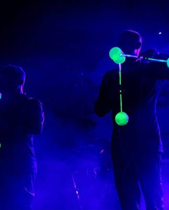Neon Contact Illusion Show in Dubai
