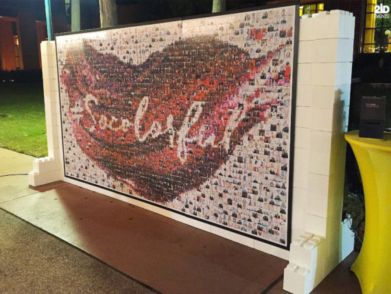Photo Mosaic Wall for team buildings