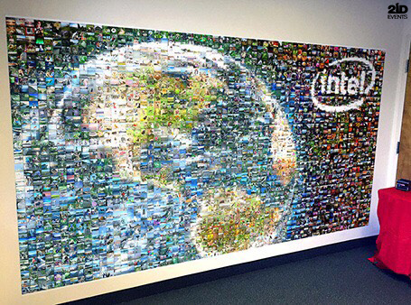 Photo Mosaic Wall for special events