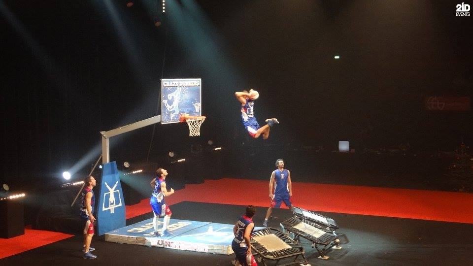 Interactive Basketball Show for sport events