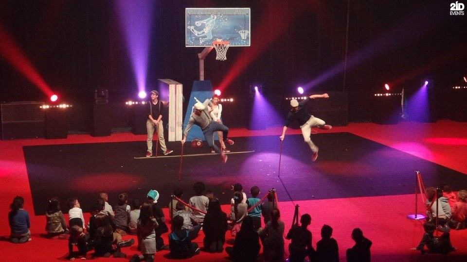 Interactive Basketball Show for corporate events