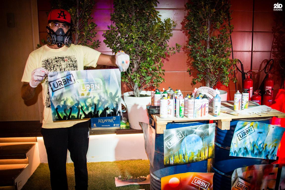 Spray Painter for festivals