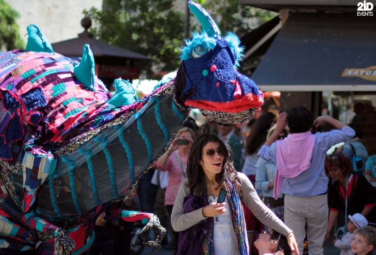 Funny Dinosaurs for festivals